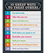10 Great Ways to Treat Others Chart Product Image