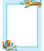 Boho Birds Chart