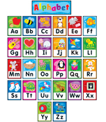 Alphabet Bulletin Board Set
