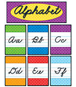Cursive Alphabet Bulletin Board Set