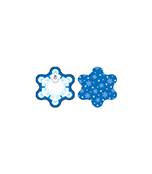 Snowflakes Mini Cut-Outs Product Image