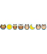 Owls & Moons Cut-Outs