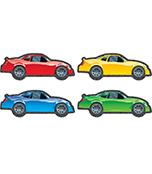 Race Cars Cut-Outs
