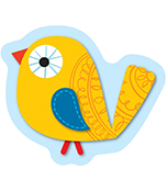 Boho Birds Mini Cut-Outs Product Image