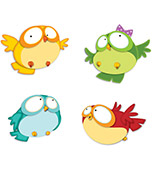 Owl Pals Cut-Outs Product Image
