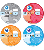 EZ-Spin: Subtraction Facts Manipulative Product Image