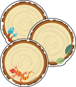 Wood Slices Cut-Outs Product Image