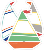 Sailboats Mini Cut-Outs Product Image