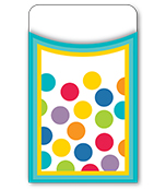 Color Me Bright Library Pockets Product Image