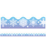 Snowflakes Scalloped Borders Product Image