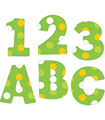 Lemon Lime EZ Letters Product Image