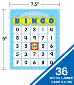 Addition & Subtraction Bingo Board Game Product Image