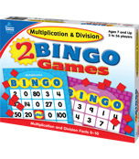Multiplication & Division Bingo Board Game Product Image