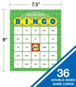Sight Words Bingo Board Game Product Image
