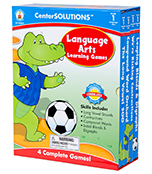 Language Arts Learning Games Board Game
