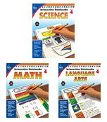 Interactive Notebook Language Arts, Math & Science Resource Book Bundle Product Image
