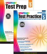 Spectrum Test Prep and Practice Workbook Bundle Product Image
