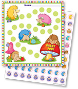 Happy Hedgehogs Mini Incentive Charts Product Image