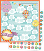 Up and Away Mini Incentive Charts Product Image