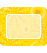 Lemon Lime Name Tags Product Image