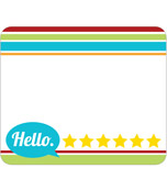 Hipster Name Tags Product Image