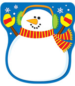 Snowman Notepad Product Image