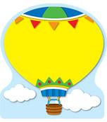 Hot Air Balloon Notepad