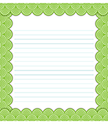 Lemon Lime Notes Notepad Product Image