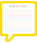 School Pop Notepad Product Image