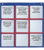 Differentiated Choice Board Pocket Chart Product Image
