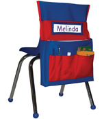 Chairback Buddy™ Pocket Chart Product Image
