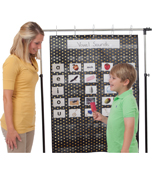 Essential: Gold Polka Dot Pocket Chart Product Image