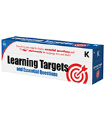 Learning Targets and Essential Questions Pocket Chart Cards