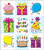 Birthday Prize Pack Stickers Product Image