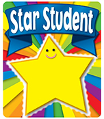 Star Student Motivational Stickers