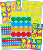 Smiley Faces Sticker Collection Product Image
