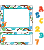 Boho Birds Variety Sticker Pack Product Image