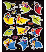Super Power Shape Stickers Product Image