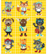 Hipster Prize Pack Stickers Product Image