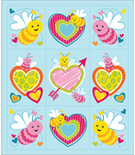 Love Bugs Prize Pack Stickers Product Image
