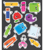 School Tools Shape Stickers Product Image