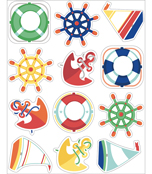 S.S. Discover Shape Stickers Product Image