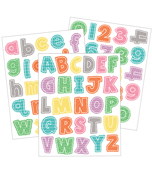 Up and Away Letters and Numbers Sticker Pack Product Image