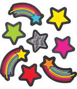 Stars and Starbursts Shape Stickers Product Image