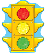 Stoplight Two-Sided Decoration Product Image