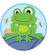 FUNky Frog Two-Sided Decoration