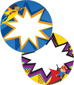 Super Power Two-Sided Decoration Product Image