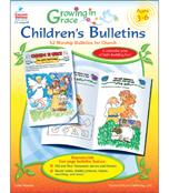 Growing in Grace Children's Bulletins Resource Book