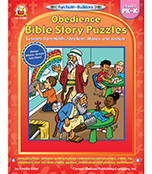 Obedience Bible Story Puzzles Resource Book