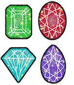 Jewels Chart Seals Product Image